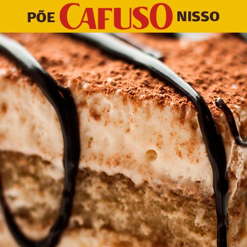 pave de bolacha maizena com café Cafuso