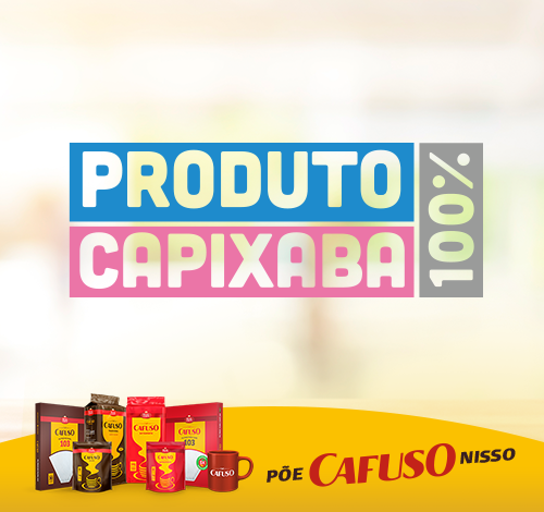 """Café Cafuso recebe selo """"produto 100% capixaba"""""""