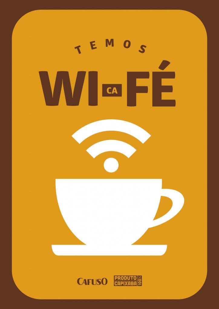 """Quadro-de-cantinho-do-café-para-imprimir-com-a-frase-""""Temos-Wi-café"""""""