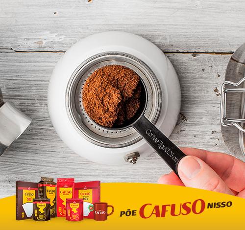 medida certa para fazer o café